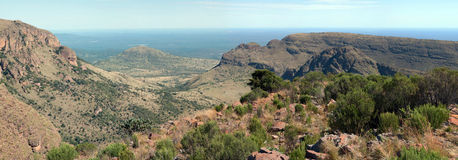 Waterberg Panorama. Stockfoto