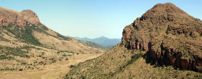 Waterberg Panorama. Royalty Free Stock Image