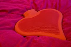 Waterbottle_heart_1 Stock Images