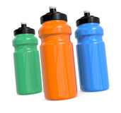 Waterbottles Royalty Free Stock Images