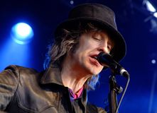 waterboys scott микрофона Стоковое Фото