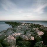 Waterbreak Fotografie Stock