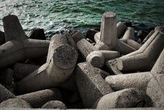 Waterbreak concreto foto de stock