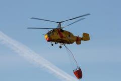 waterbucket вертолета Стоковое Изображение RF