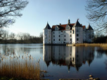 watercastle Royaltyfria Bilder