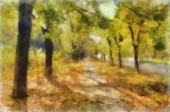 watercolor αλεών