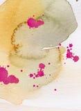 watercolor ανασκόπησης Στοκ Φωτογραφίες