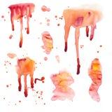 watercolor απελευθερώσεων Στοκ φωτογραφίες με δικαίωμα ελεύθερης χρήσης