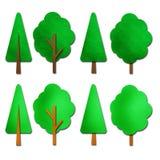 watercolor δέντρων Στοκ Φωτογραφίες