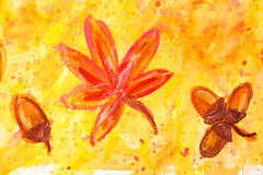 watercolor ζωγραφικής στοκ φωτογραφία με δικαίωμα ελεύθερης χρήσης
