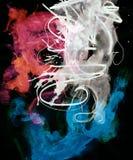watercolor λεκέδων Στοκ Εικόνες
