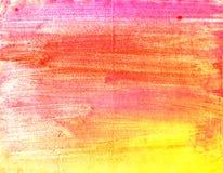 watercolor λωρίδων Στοκ Φωτογραφία