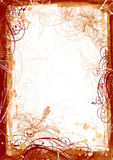 watercolor πλαισίων grunge Στοκ Φωτογραφία