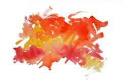 watercolor σημαδιών Στοκ φωτογραφία με δικαίωμα ελεύθερης χρήσης