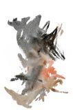 watercolor σημαδιών Στοκ εικόνα με δικαίωμα ελεύθερης χρήσης
