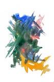 watercolor σημαδιών Στοκ Εικόνες