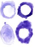 watercolor σταγόνων Στοκ φωτογραφίες με δικαίωμα ελεύθερης χρήσης