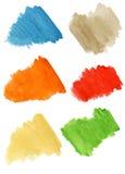 watercolor σταγόνων απεικόνιση αποθεμάτων
