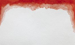 Watercolor στην άσπρη canson στοκ φωτογραφία με δικαίωμα ελεύθερης χρήσης