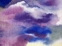 Watercolor τέχνης υποβάθρου αφηρημένο ζωηρόχρωμο κατασκευασμένο υγρό πλύσιμο θαλάσσιου νερού επιφάνειας υγρό που θολώνεται Στοκ εικόνες με δικαίωμα ελεύθερης χρήσης