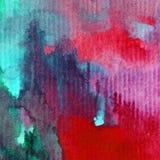 Watercolor τέχνης ωκεάνιος υποβρύχιος παγκόσμιος φρέσκος ρομαντικός φύσης υποβάθρου λεπτός ζωηρόχρωμος διανυσματική απεικόνιση