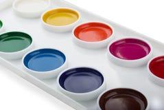 watercolor χρωμάτων Στοκ φωτογραφία με δικαίωμα ελεύθερης χρήσης
