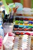 watercolor χρωμάτων Στοκ Εικόνα