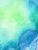 Χρωματισμένη περίληψη ανασκόπηση watercolor Στοκ Εικόνες
