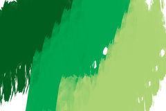 Watercolor. A greenish water color paint Royalty Free Stock Photography