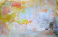 Watercolor abstract background Royalty Free Stock Images