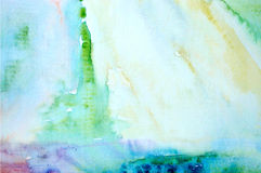 Watercolor abstract background Stock Image