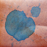 Watercolor abstract background blue paint color Stock Image