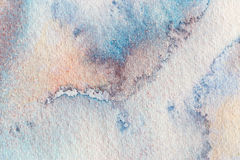Watercolor abstract background. Hand painted watercolor background. Royalty Free Stock Photography