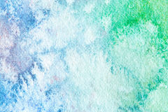Watercolor abstract background. Hand painted watercolor background. Royalty Free Stock Photos