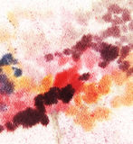 Watercolor abstract background. Watercolor multicolored abstract composition, spots, splashes, brush strokes royalty free illustration
