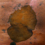 Watercolor abstract background paint brown color Stock Image
