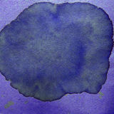 Watercolor abstract background paint purple color Royalty Free Stock Photos