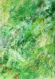 Watercolor abstract background texture of handmade Royalty Free Stock Image