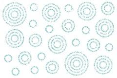 Watercolor abstract circles pattern. Stock Photography