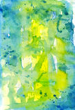 Watercolor abstract composition Stock Image