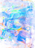 Watercolor abstract Ebru background for different design. Watercolor abstract Ebru background for design Royalty Free Stock Photography
