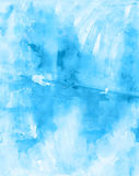 Watercolor abstract hand drawing grunge shabby  background for d Stock Image