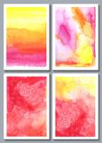 Watercolor abstract Royalty Free Stock Photography
