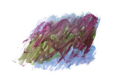 Watercolor abstract handmade background Stock Photography