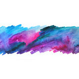 Watercolor abstract illustration. Abstract background. Stock Photo