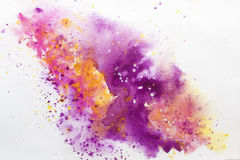 Watercolor Abstract One Royalty Free Stock Photography