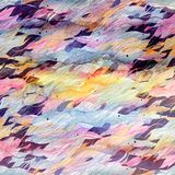Watercolor abstract ornamental background Stock Images