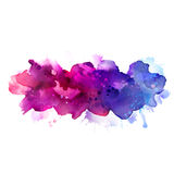 Watercolor abstract Stock Images
