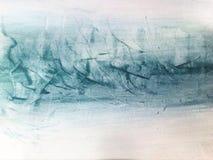 Watercolor. Abstract sea watercolor Stock Photography