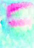 Watercolor abstract wash drawing  background for design Royalty Free Stock Image